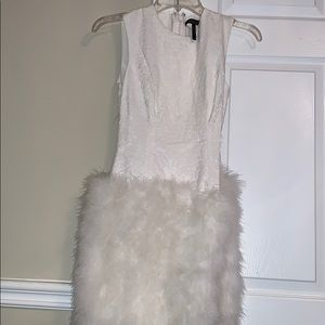 Bcbg feather dress! Great condition